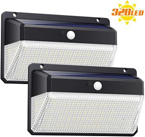 dos lamparas led solares