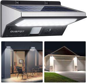 lampara solar de patio