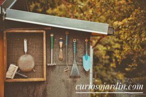caseta de jardin para guardar herramientas